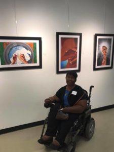 Amazing! - First Art Show ©2018 Sandra Jean-Pierre